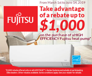 Fujitsu - Wall Mounted Heat Pump
