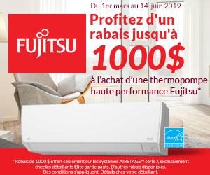 Fujitsu - Thermopompe murale